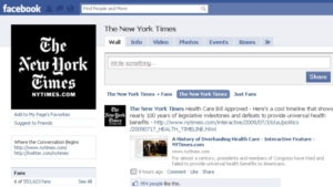 facebook new york times