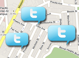 Twitter Places Local Based Services