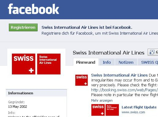 facebook swiss